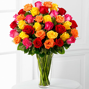 The Bright Spark? Rose Bouquet