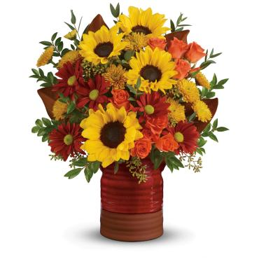 Sunshine Crock Bouquet