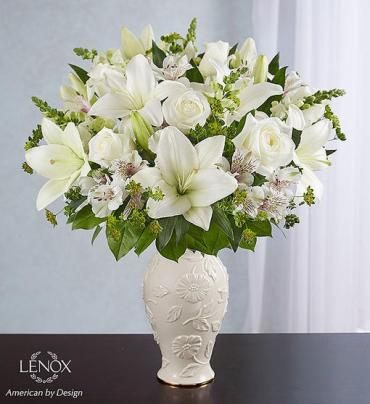 Loving Blooms Lenox All White
