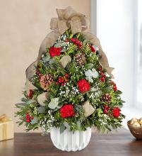 Christmas Enchantment? Holiday Flower Tree