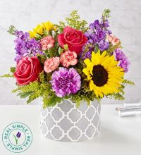 Vibrant Sensation Bouquet by Real Simple