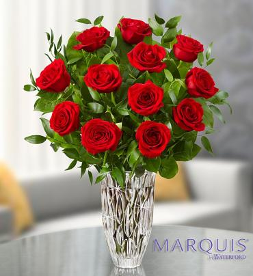 Marquis by Waterford? Premium Red Roses