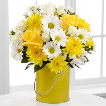 The Color Your Day With Sunshine? Bouquet