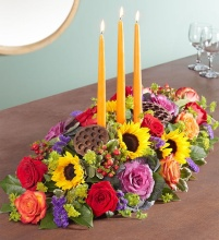 A Garden Of Grandeur For Fall Centerpiece