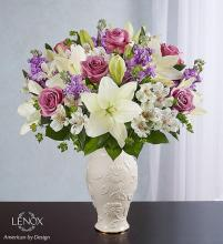 Loving Blooms Lenox Lavender & White