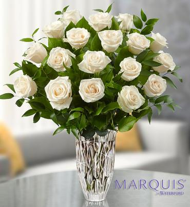 Marquis by Waterford? Premium White Roses