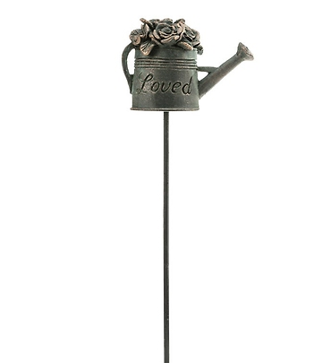 Bronze Watering Can Pick