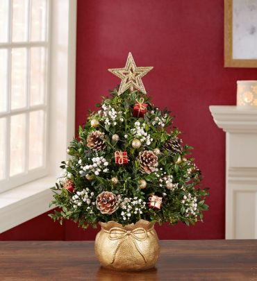 A The Magic  Christmas Holiday Flower Tree