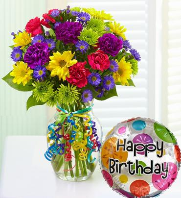 It\'s Your Day Bouquet Happy Birthday