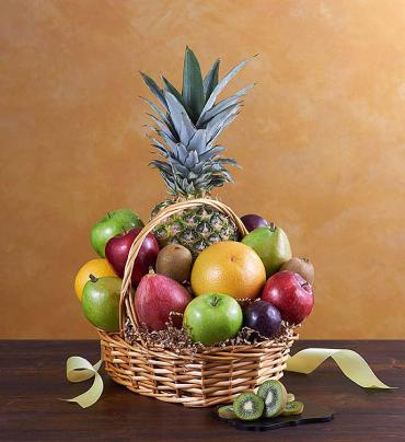 Deluxe All FRESH Fruit Basket